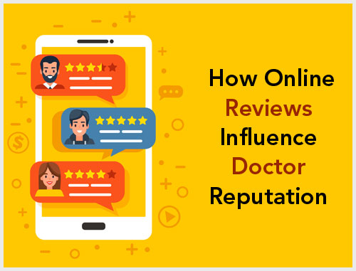 How Online Reviews Influence Doctor Reputation