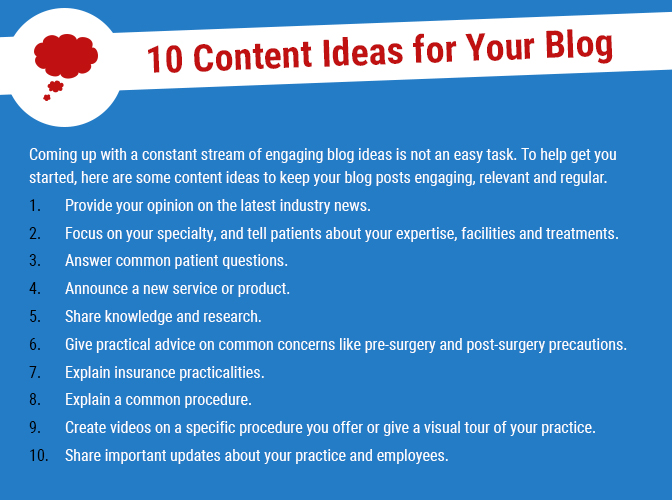 Plastic Surgery Marketing: 7 Essential Elements of an Engaging Blog