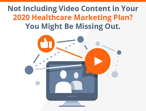 Not Including Video Content in Your 2020 Healthcare Marketing Plan? You Might Be Missing Out.