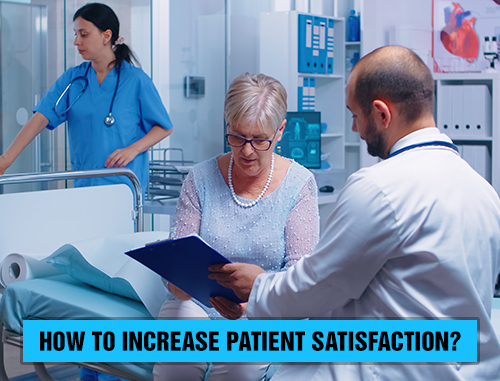 How to increase patient satisfaction?