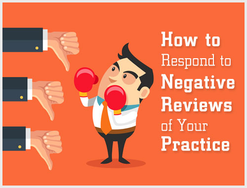 How to Respond to Negative Reviews of Your Practice