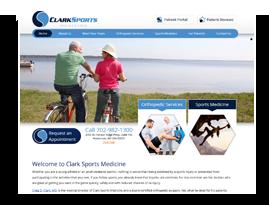 Clark Sports and Orthopaedic.