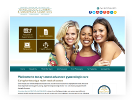 Gynecologic Surgery & Menopause Solutions.